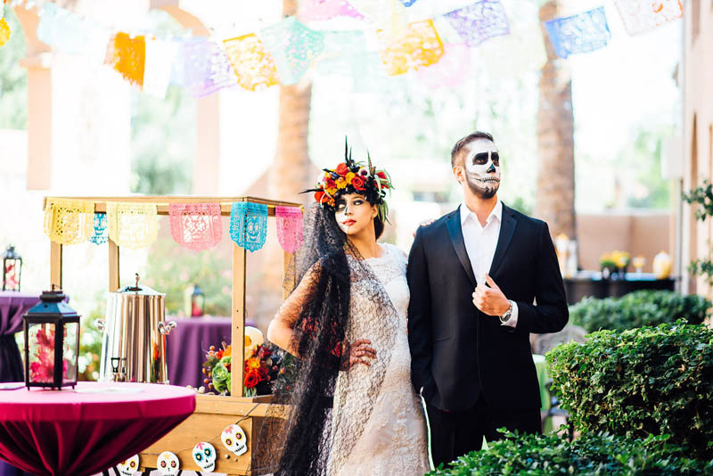Day op the Dead wedding