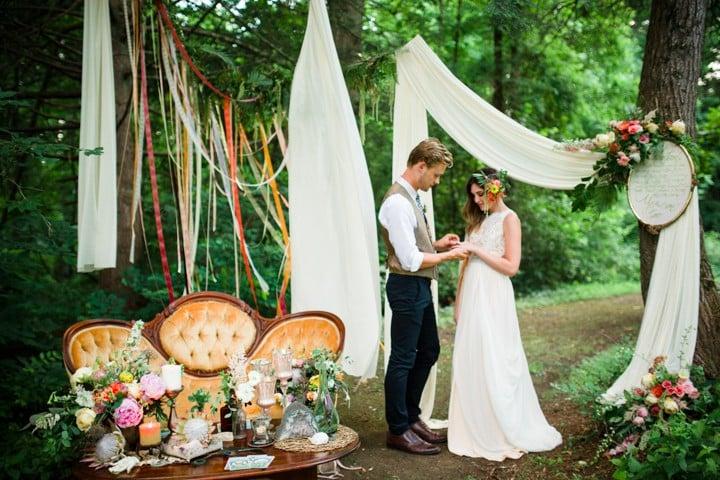 adventure elopement decorations