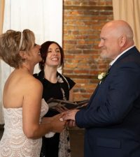 Performing wedding ceremonies is one of the greatest joys in life! Photo: Kevin Millard Photography